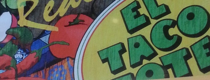 El Taco Tote is one of Chko 님이 좋아한 장소.