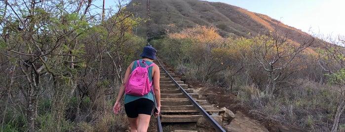 Koko Crater Stairs is one of Hawaiian Islands Top Picks.