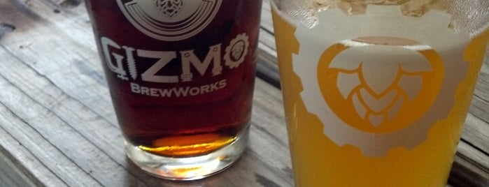 Gizmo Brew Works is one of Triangle Area Breweries.