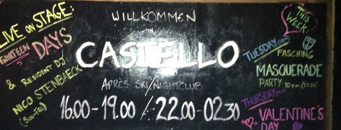 Castello | Club - Bar - Apres Ski is one of Saalbach-Hinterglemm.