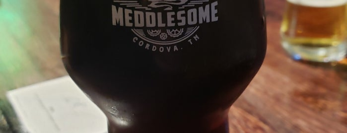 Meddlesome Brewing Company is one of Gillian 님이 좋아한 장소.