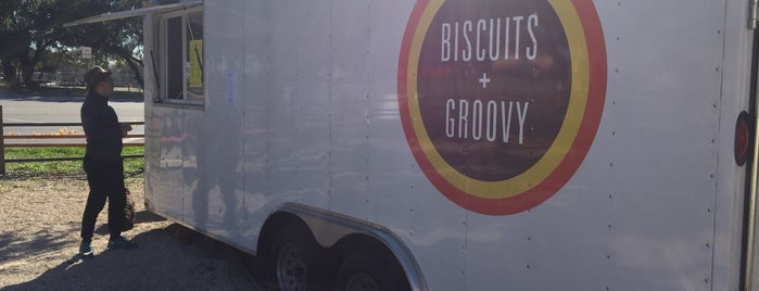 Biscuits + Groovy is one of Locais curtidos por Aaron.