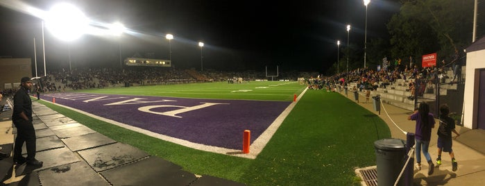 """Elder Stadium, aka """"The Pit"""" is one of 10 High School Football Stadiums to See."""