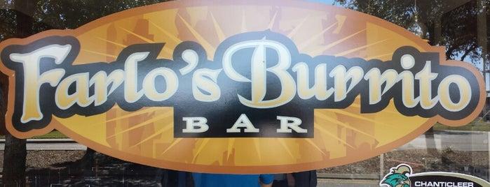 Farlo's Burrito Bar is one of SC.