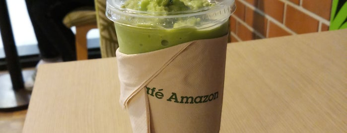 Café Amazon is one of Yodpha's Liked Places.