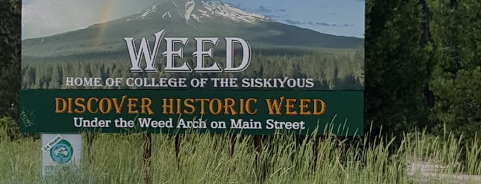 City of Weed is one of Lieux qui ont plu à Sky.