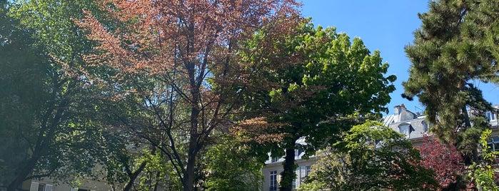 Square Alex-Biscarre is one of RESTÖ [ 75 PARIS FRANCE ] ⬅_⬅.