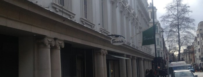 Fenwick is one of London shopping..