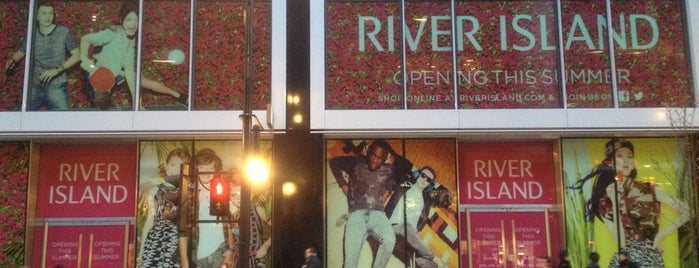 River Island is one of London Town.