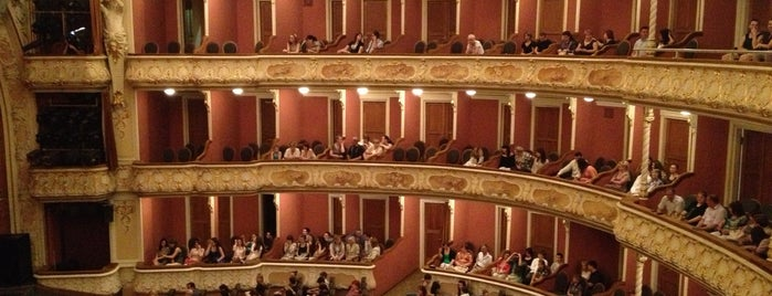 Театр ім. Івана Франка / Ivan Franko Theater is one of Lugares favoritos de Dmytro.