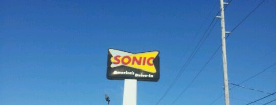 SONIC Drive In is one of Top Picks for Restaurants/Food/Drink Spots.