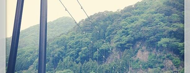 鬼怒楯岩大吊橋 is one of こんぶさんのお気に入りスポット.