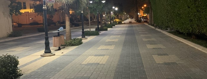 Al Malqa district walk is one of Lieux sauvegardés par Noha.