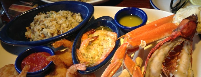 Red Lobster is one of North Texas favs.