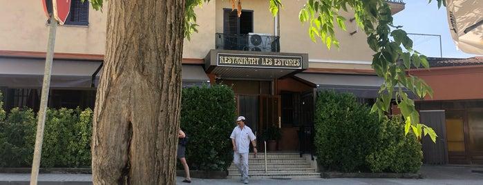 Les Estunes is one of Llocs per menjar.