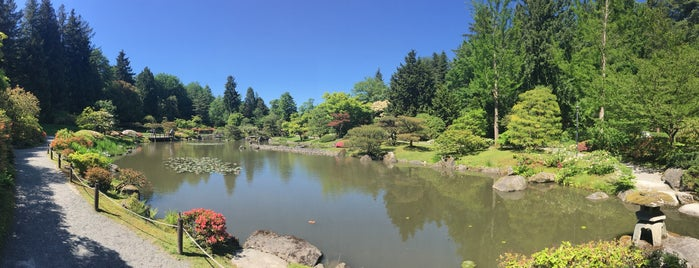 Jardin Japonais de Seattle is one of Lieux qui ont plu à Catarina.