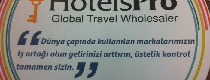 HOTELSPRO Global Travel Wholesaler is one of Lugares favoritos de Gülseli.