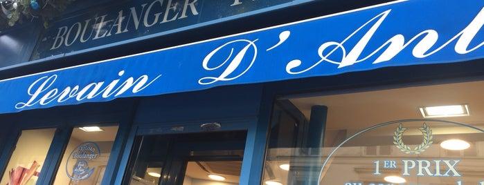 Boulanger Pâtissier is one of Tempat yang Disukai Danil.