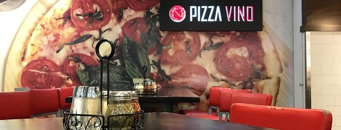 PizzaVino is one of Lugares favoritos de James.
