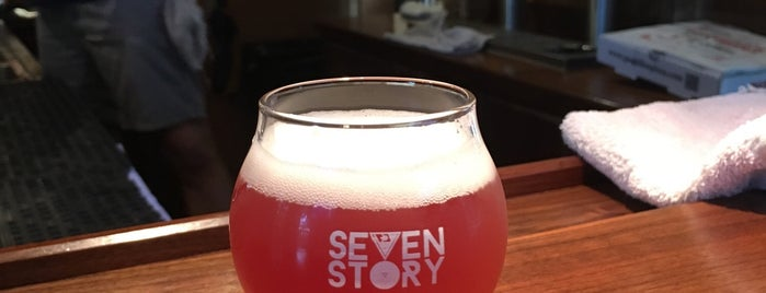 Seven Story Brewing is one of Take zucchini.