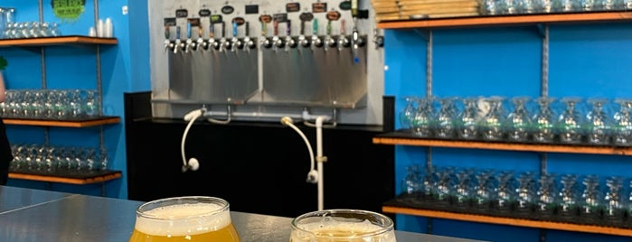 Ellipsis Brewing is one of Orlando.