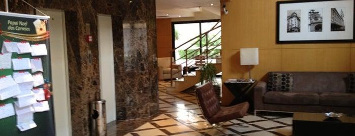 TRYP São Paulo Jesuíno Arruda Hotel is one of places.