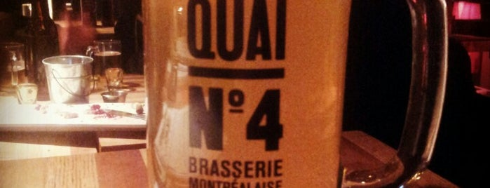 Quai No. 4 is one of Mes plans A.
