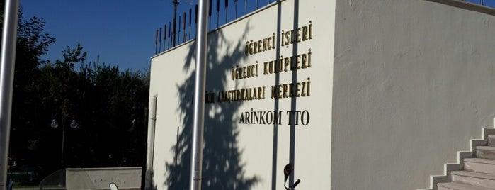 ARİNKOM Teknoloji Transfer Ofisi is one of Tempat yang Disukai Ogün.