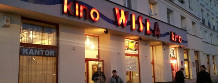 Kino Wisła is one of Warsaw.