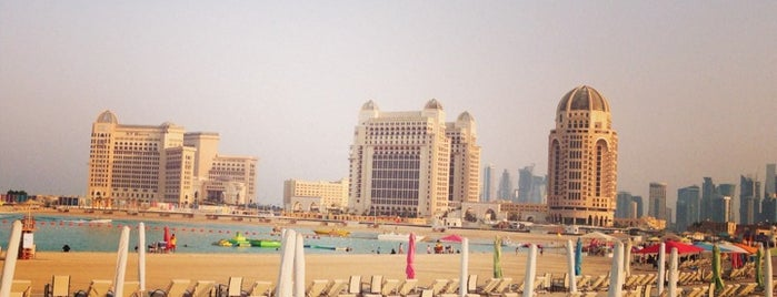 Katara Beach is one of JIG.