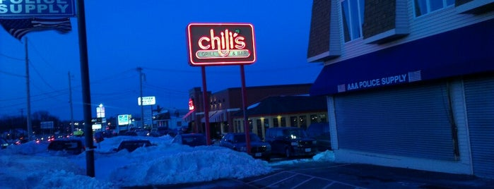 Chili's Grill & Bar is one of Resturaunts.