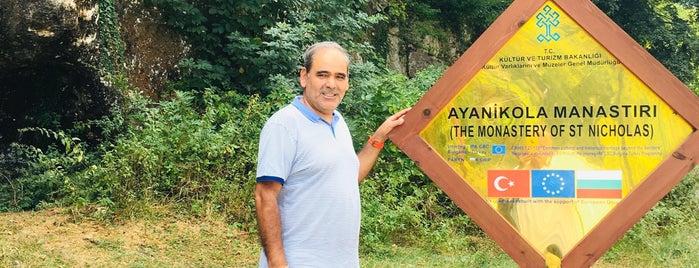 Aya Nikola Manastırı is one of Haftasonu.