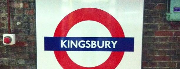 Kingsbury London Underground Station is one of Underground Stations in London.