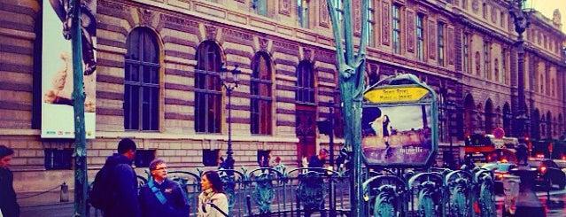 Métro Palais Royal – Musée du Louvre [1,7] is one of Paris: husband's hometown ♥.