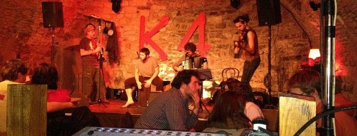 K4 is one of Nejlepší studentské party venues.