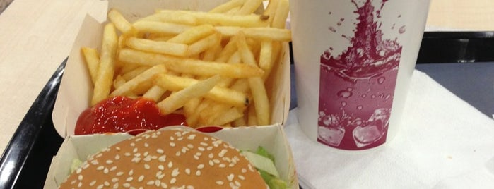 McDonald's is one of my love Ankara.