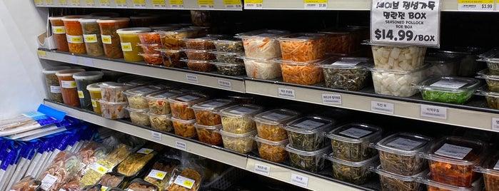 Woori Food Market is one of top picks/favs.