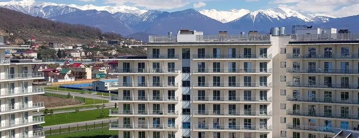 Сочи Парк Отель 3* is one of สถานที่ที่ Sergey ถูกใจ.