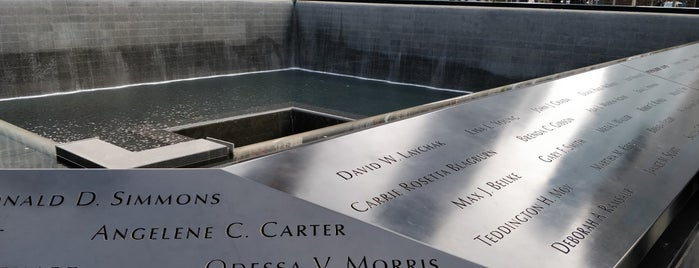 9/11 Memorial North Pool is one of Tourist attractions NYC.