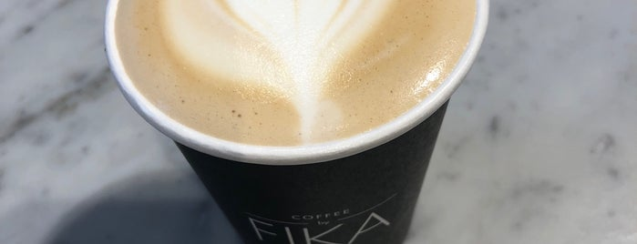 Fika Espresso Bar is one of The Black Notebook.