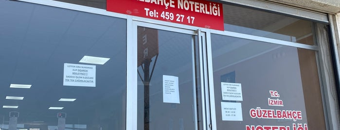 Güzelbahçe Noter is one of ahmet 님이 좋아한 장소.
