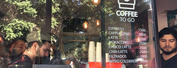 3841 Coffee Roasters is one of Santiago Specialty Coffee Shops.