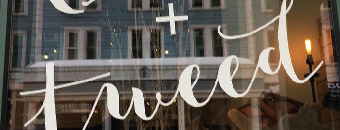 Olive & Tweed is one of Colette : понравившиеся места.