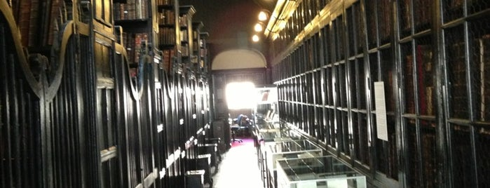 Chetham's Library is one of Manchester to-do.