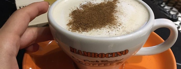 Mambocino Coffee is one of Volkanさんのお気に入りスポット.