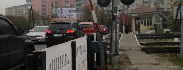 "Залізничний переїзд ""Вишневе"" is one of Posti salvati di Victoria."