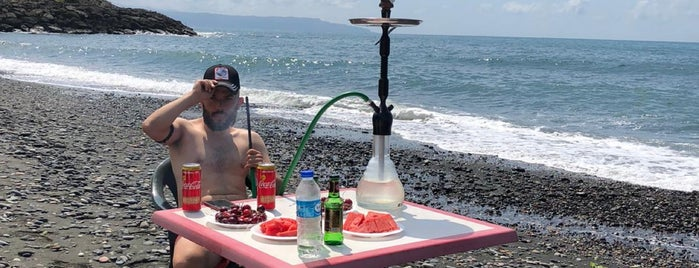 Kale Beach & Camping is one of Tempat yang Disukai Gökhan.
