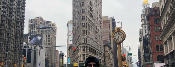 フラットアイアンビルディング is one of Future NYC Trip.