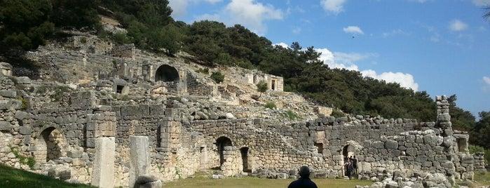 Arykanda Antik Kenti is one of Antik kentler ve  müzeleri.