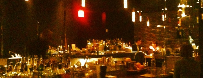 The Bar Downstairs and Kitchen is one of NYC: Booze.